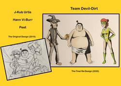 Redesign - Devil Dirt