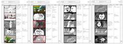 Veggie Rush_ Living Radish _Sample Storyboard 1
