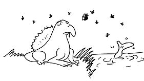 Lizard's tongue early sketch.jpg