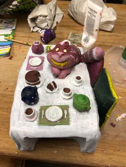 The Cheshire Cat repainted