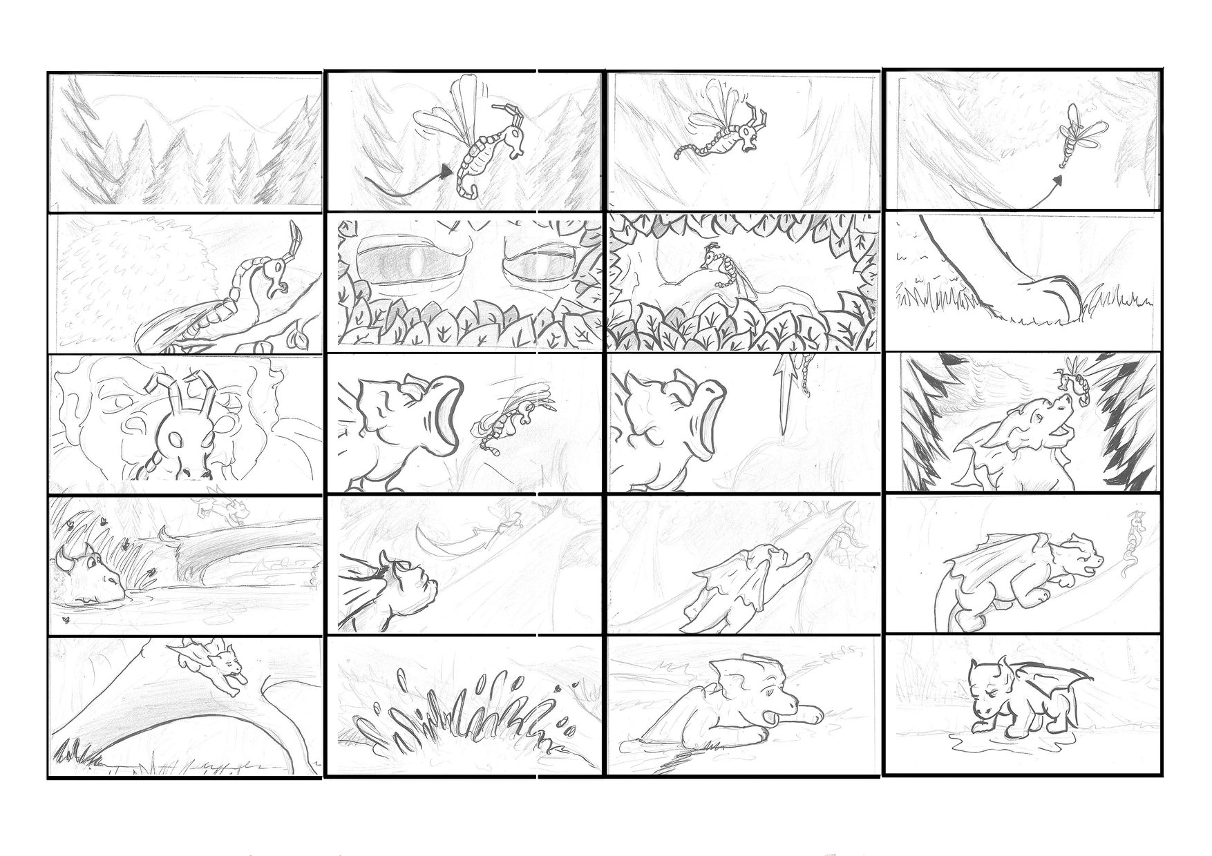 Sample of Storyboard