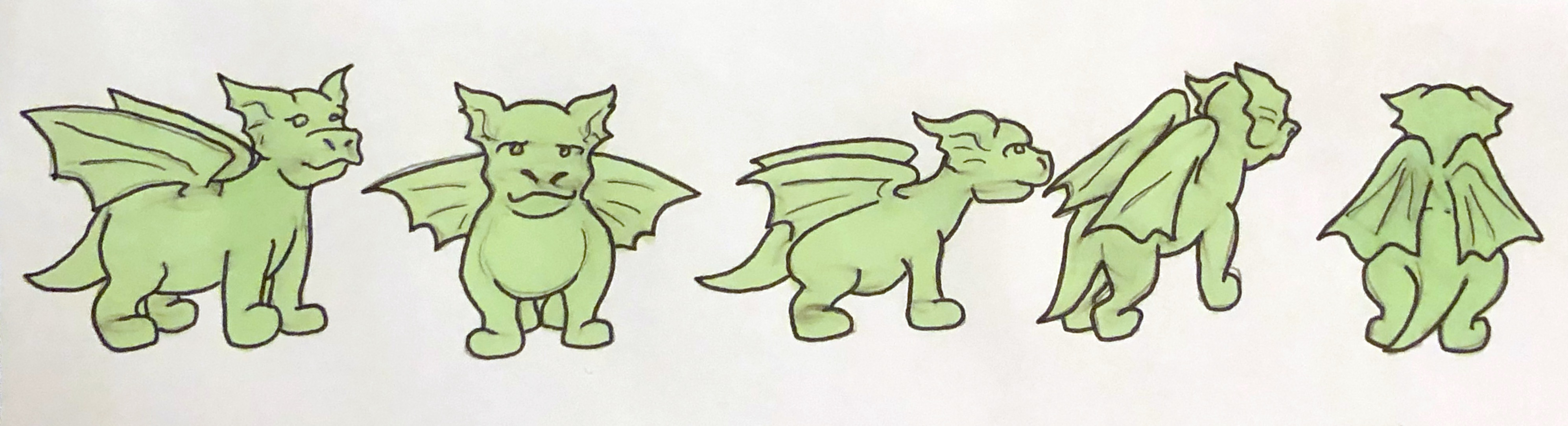 Character turnaround (Dragon)