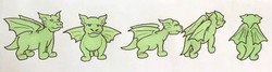 Character turnaround (Dragon)