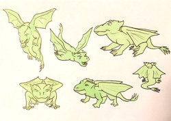 Character Design (Dragon 2)