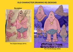 Redesign - Sculptor