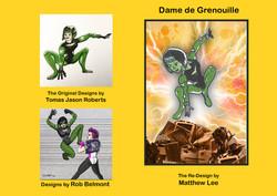 Redesigns - Dame de Grenouille