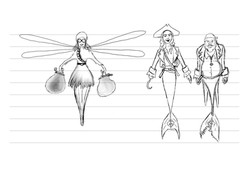 'Octowoman meets the Mermaid Pirates' line up