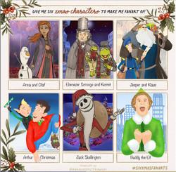 SixFanArts - Christmas