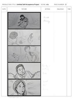 Storyboard sample page 2