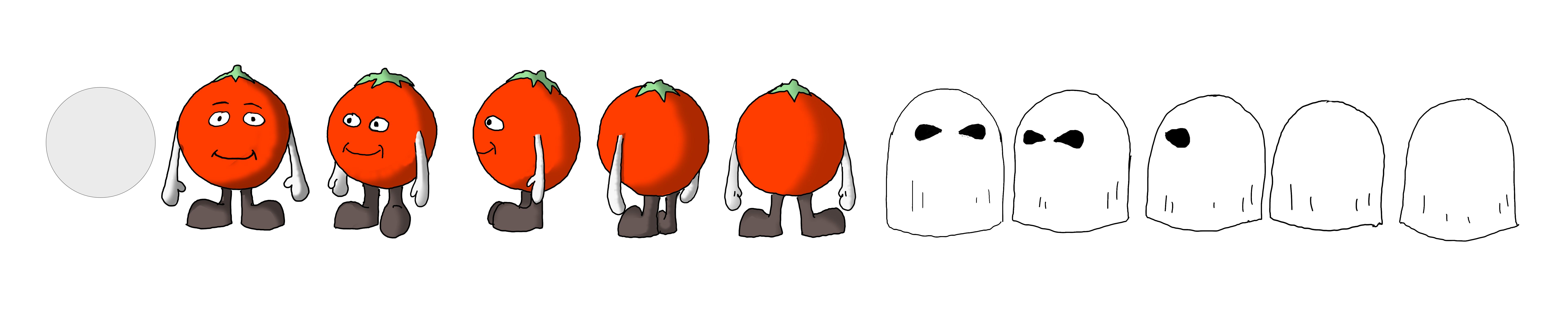 Tomato Child - shading