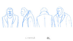 Cybrock - head turnaround