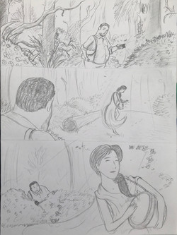 Storyboard Rough Sketches