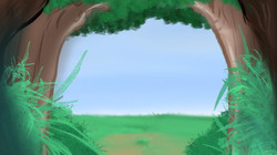 Forest archway