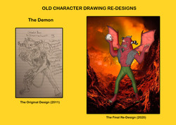Redesign - The Demon
