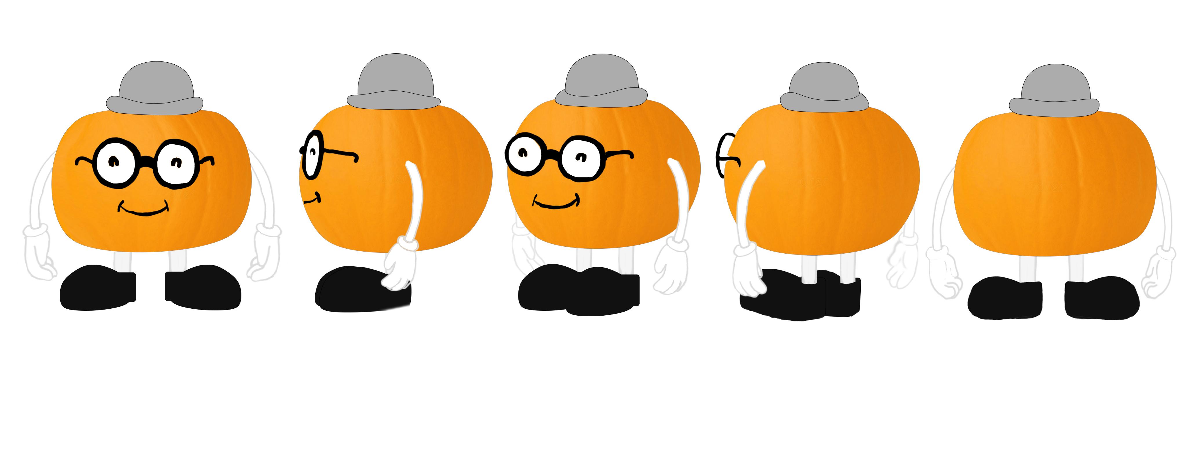 Pumpkin - texture