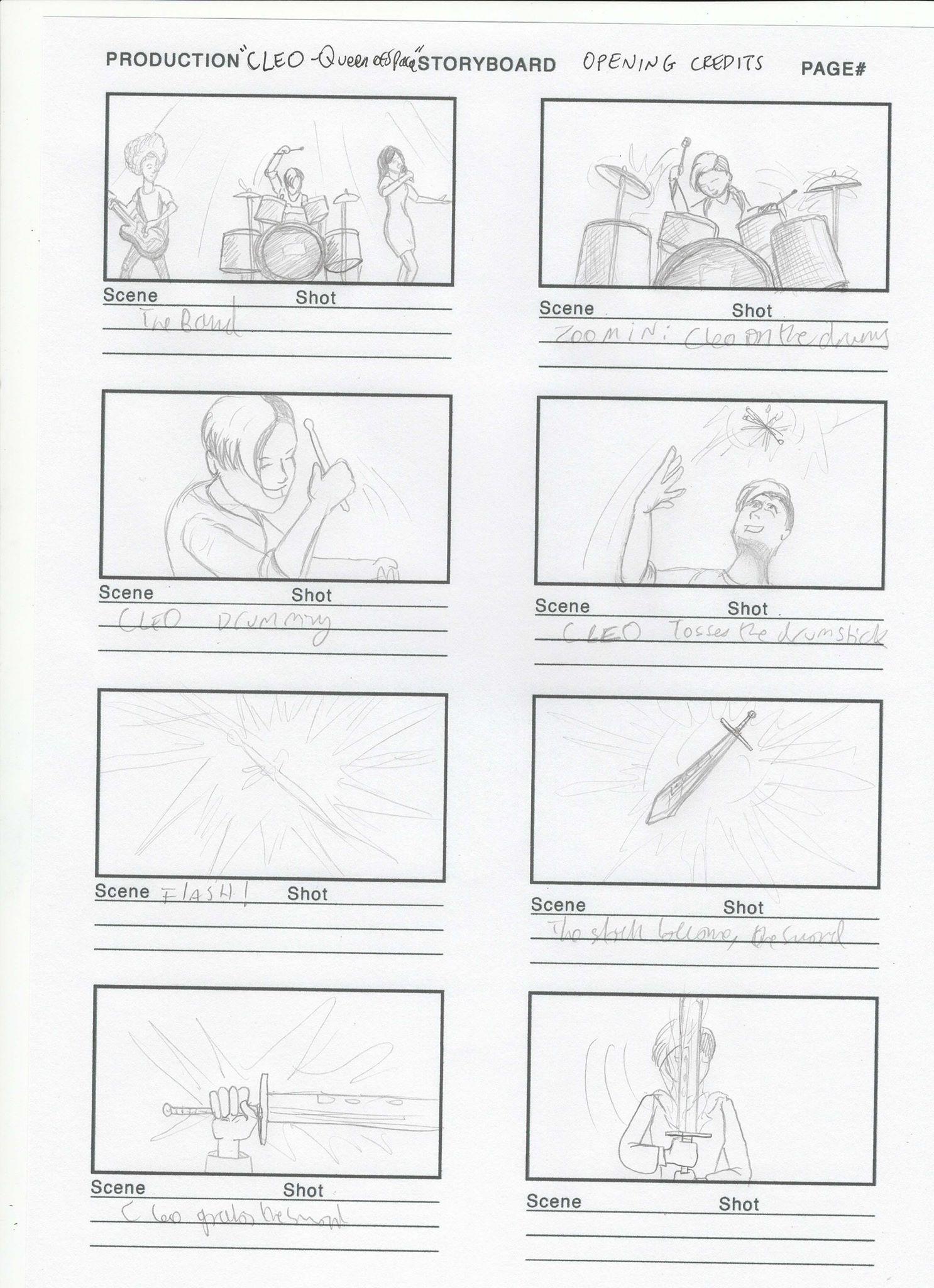 Original Storyboard - page 2