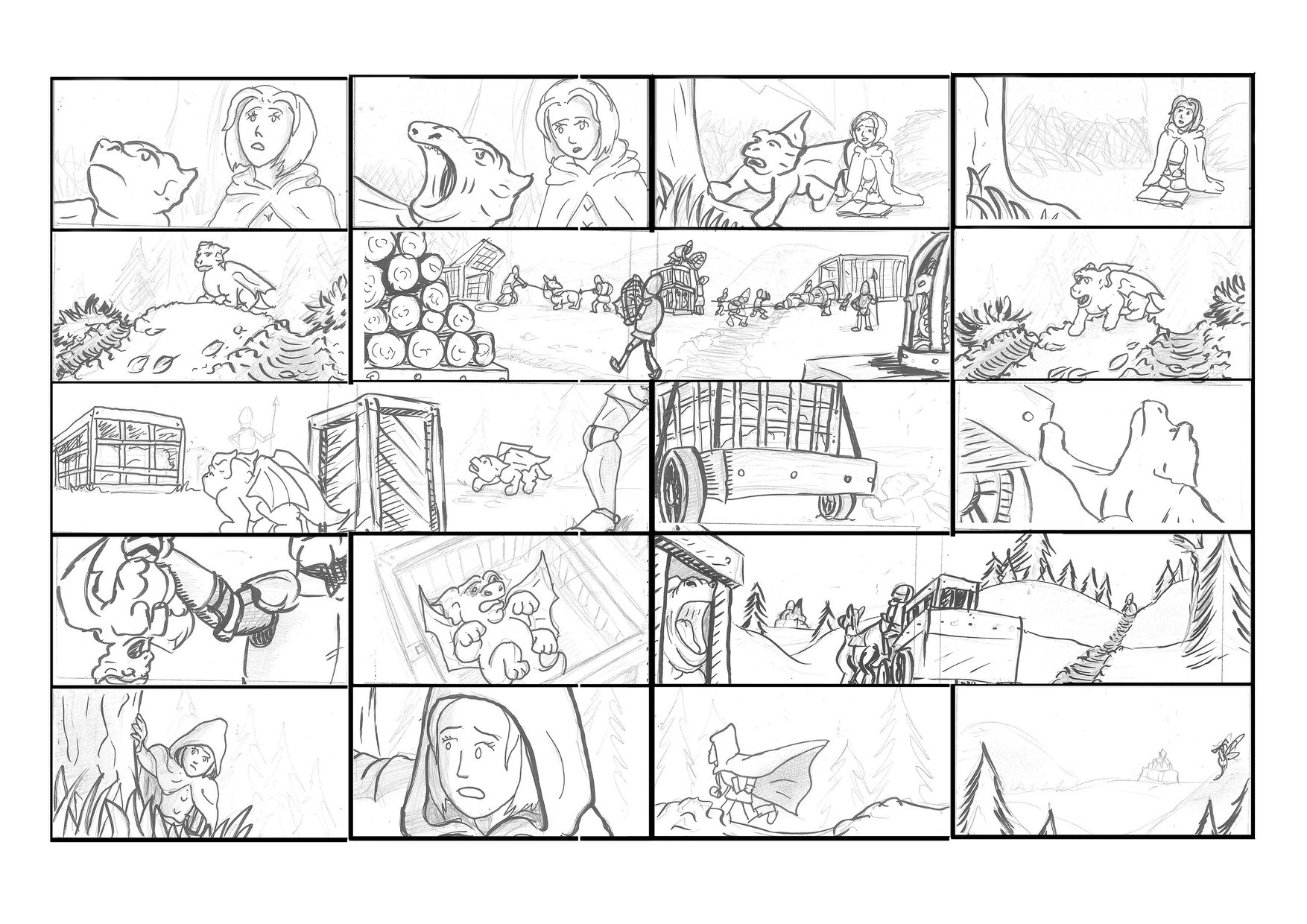 Sample of a Storyboard