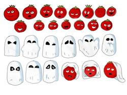 Tomato Child expressions