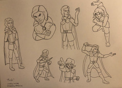 Rhodan - the original character design