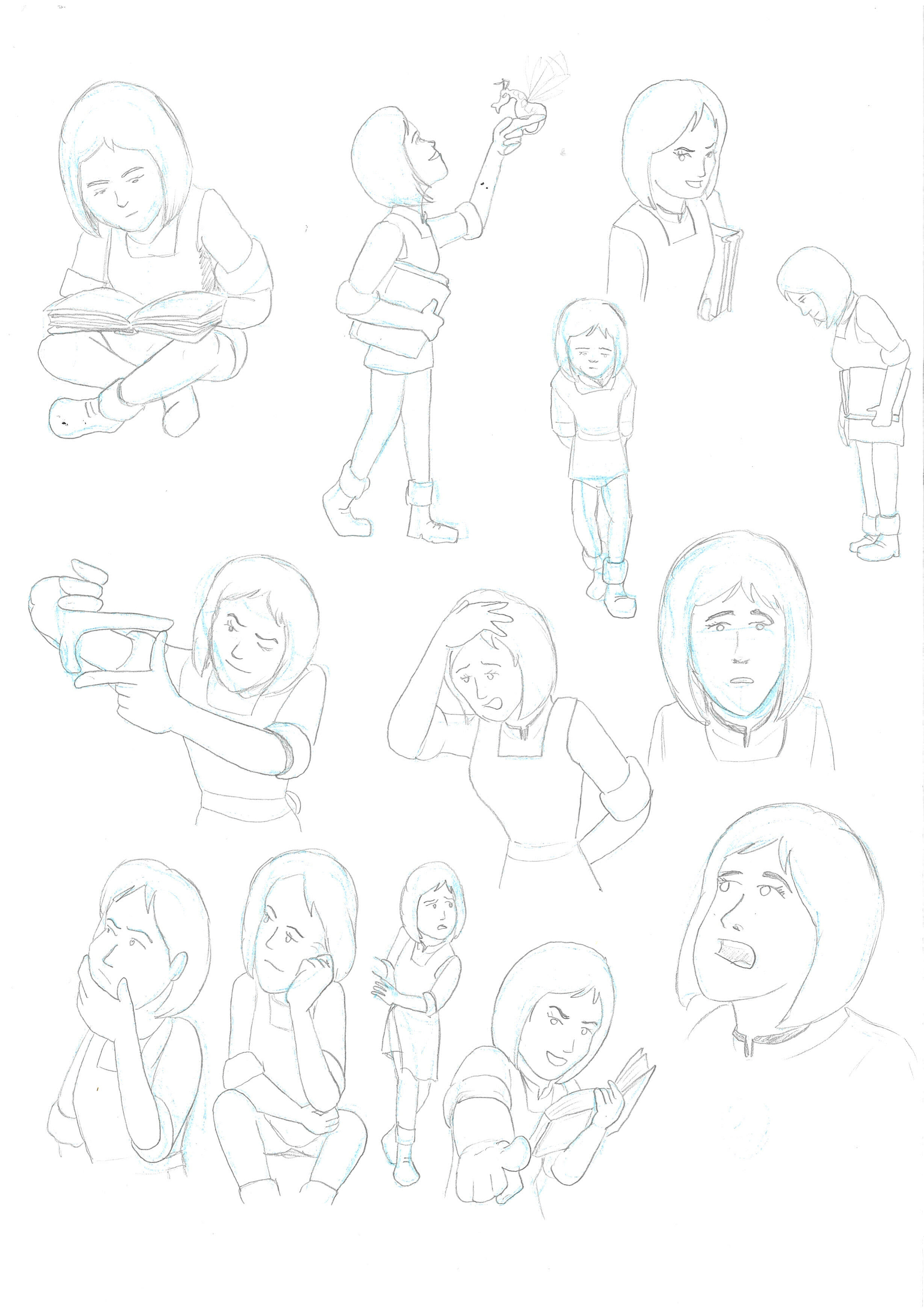Action poses (Siriol)