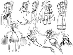 'Octowoman' - re-designs