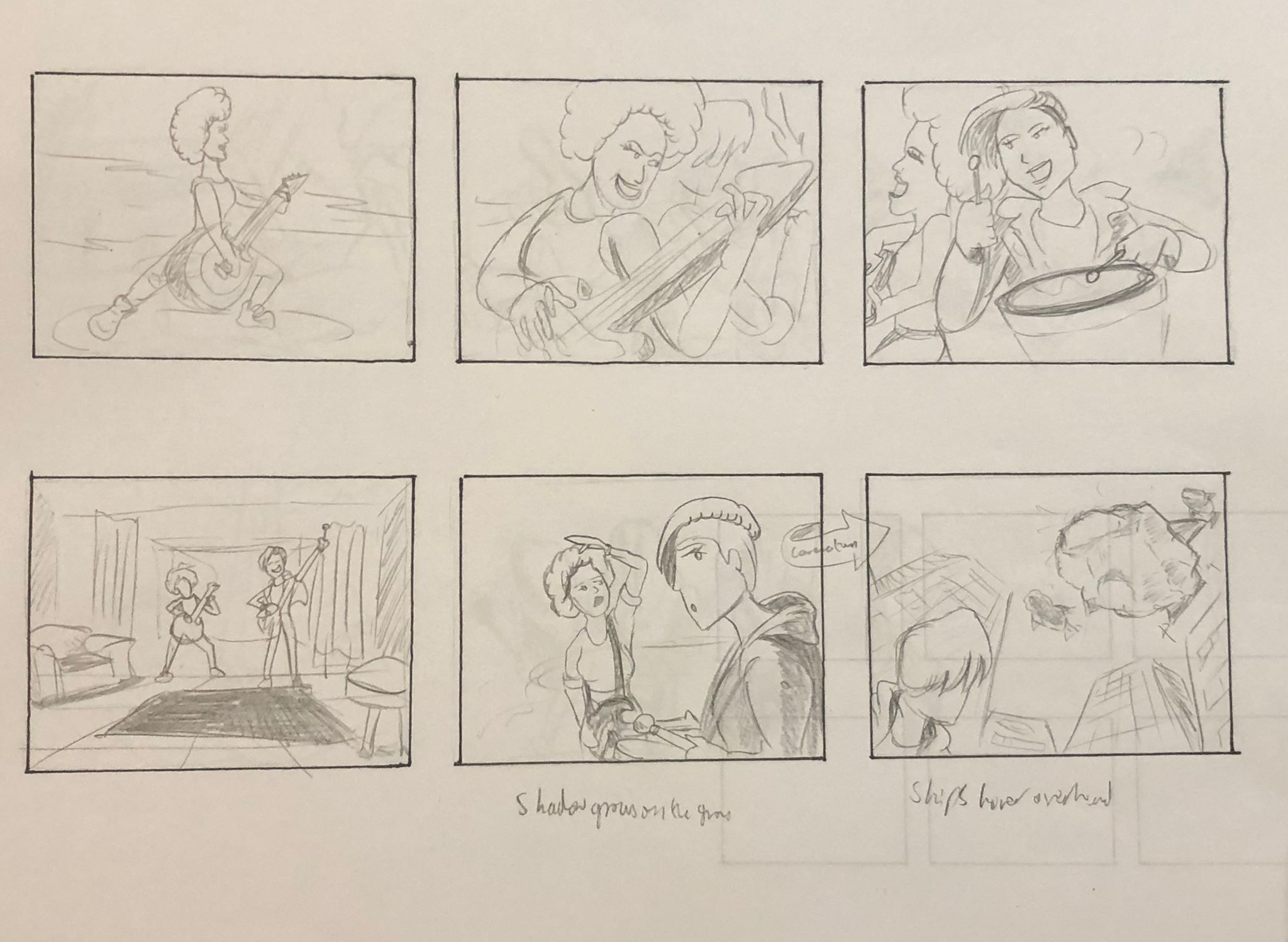 The Original Storyboard - page 3