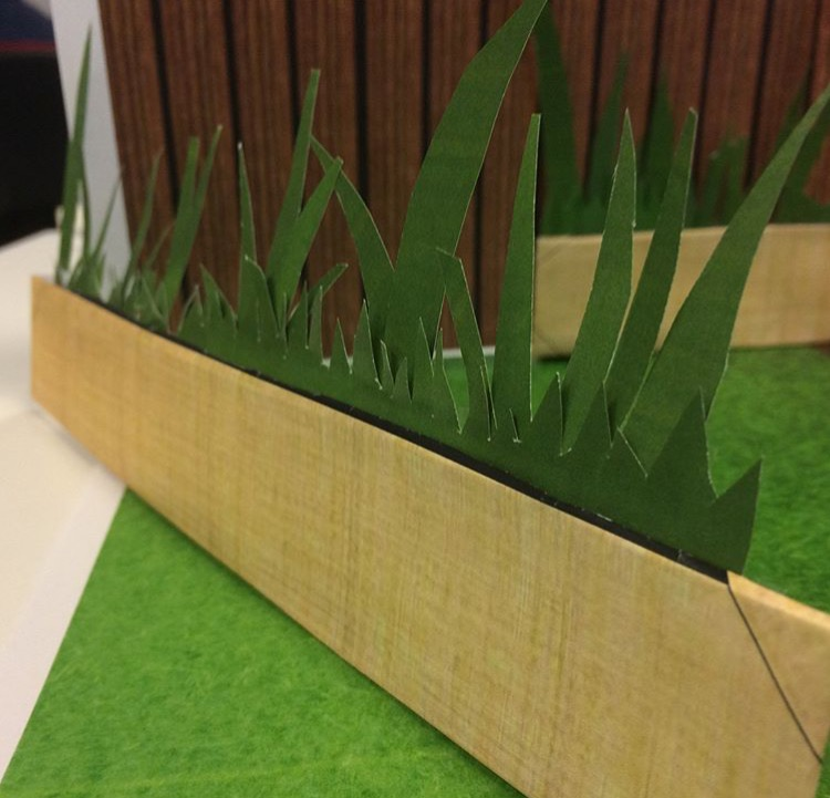 Set Building - grass