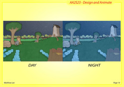 Background - day and night