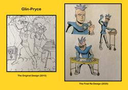Redesigns - Glin-Pryce