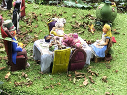 The Mad Tea Party (after rain storm)