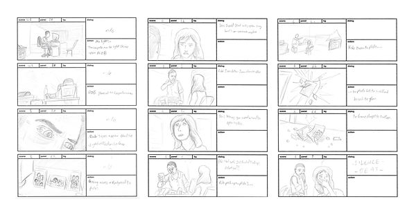 Enemy Within storyboard