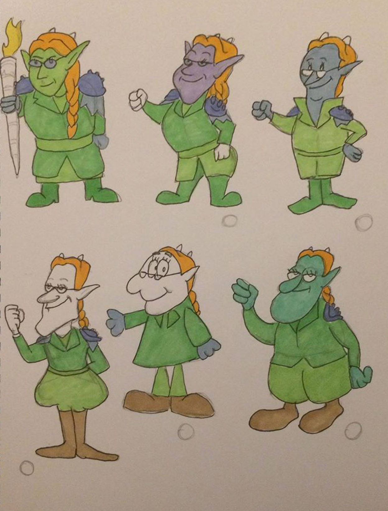 Yosti - character styles