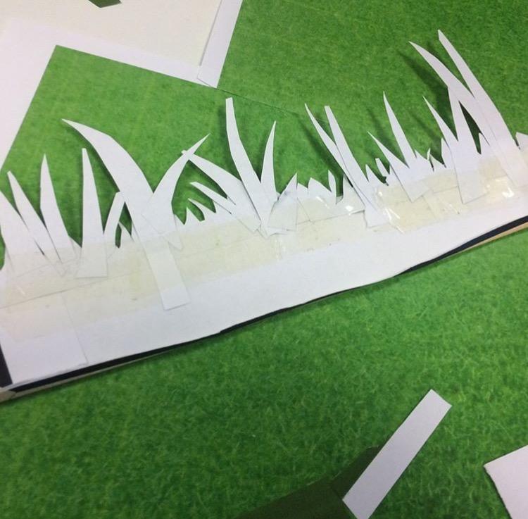 Set Building - grass