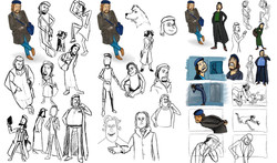 Further Character Developments