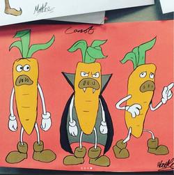 Carrot - Rough digital design