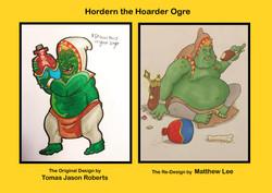 Redesigns - Hordern the Hoarder Ogre