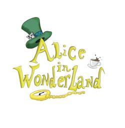 Alice in Wonderland panto logo 1