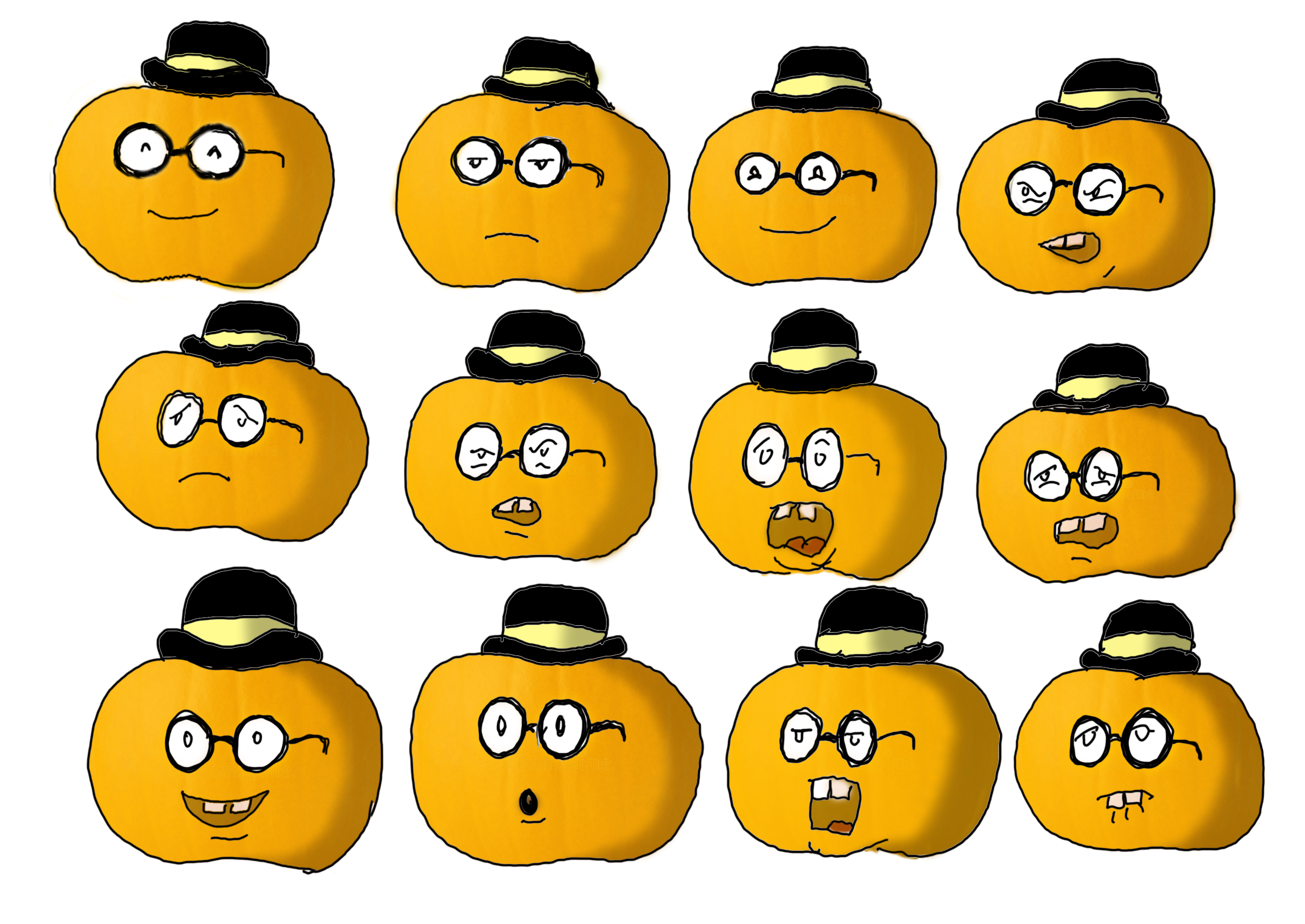Pumpkin expressions