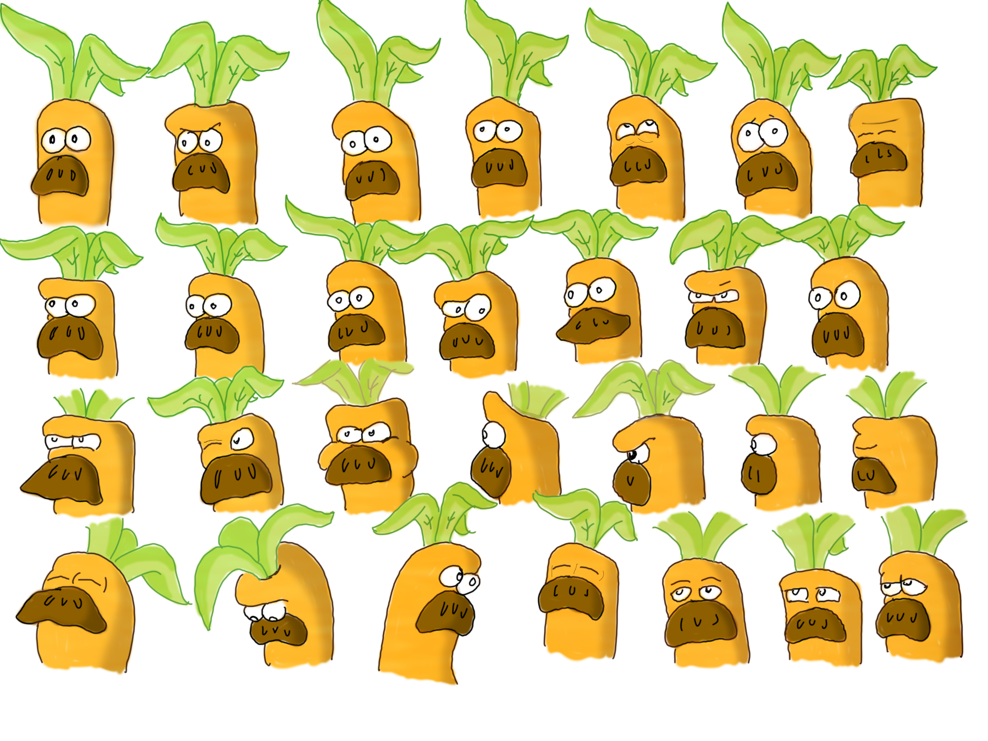 Carrot expressions