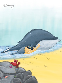 14. Beached