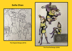 Redesigns - Sofia Chan