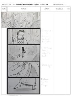 Storyboard sample page 1