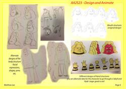 Character design development