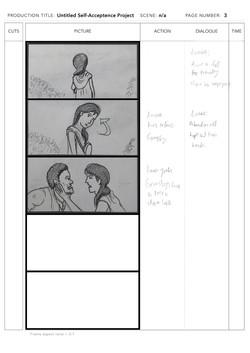 Storyboard sample page 3