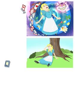 Alice in Wonderland page 4
