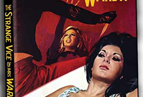 Strange Vice of Mrs Wardh (Dvd All R (SEVERIN) (