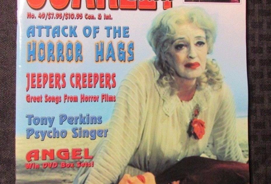 SCARLET STREET Magazine #49 Horror Hags Gordon Scott