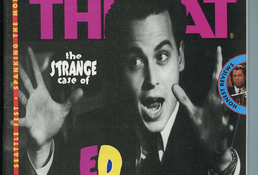 Film Threat Magazine #19 JOHNNY Depp - Vampira - Ed Wood