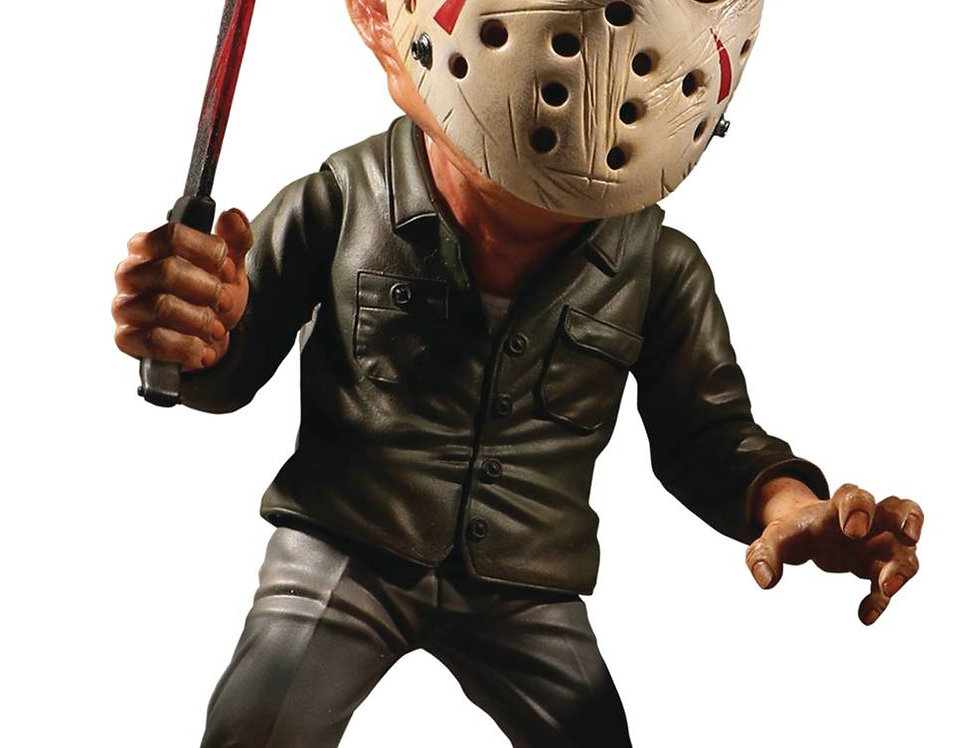 FRIDAY THE 13TH JASON VOORHEES 6IN DELUXE STYLIZED ROTO FIGURE