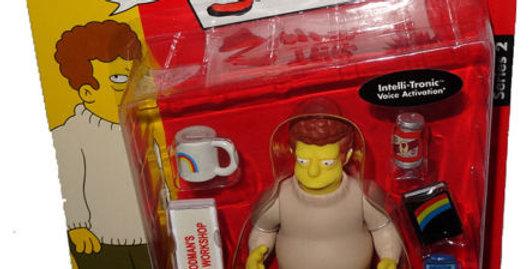Simpsons Celebrity Series Brad Goodman Action Figure MOC RARE WOS Albert Brooks
